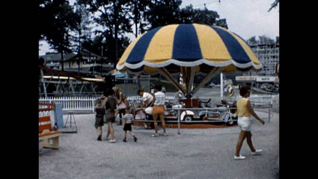 Chippewa Lake Amusement Park Summer 1963 Youtube