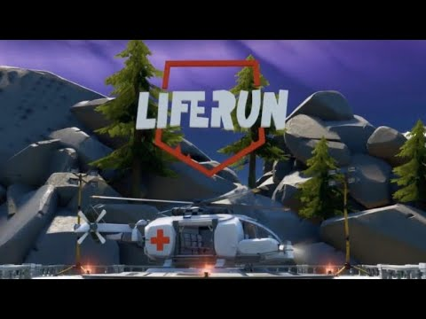 Fortnite X Redcross EVENT (LIFE RUN GAME MODE)