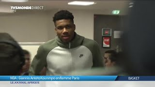 NBA : Giannis Antetokounmpo enflamme Paris lors du match entre Charlotte Hornets et Milwaukee Bucks