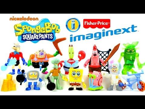 Imaginext® SpongeBob Squarepants Nickelodeon ToysRUs Exclusive by Fisher-Price® Set 1