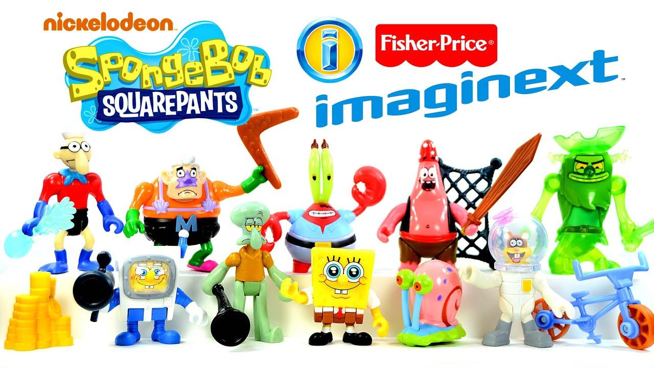 imaginext spongebob squarepants nickelodeon toysrus exclusive by