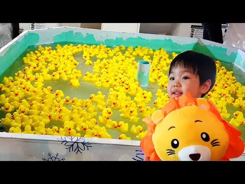 Duck Fishing Carnival Game For Kids Toddlers 🦆🎪 Soft Toy Prizes Fun Fair