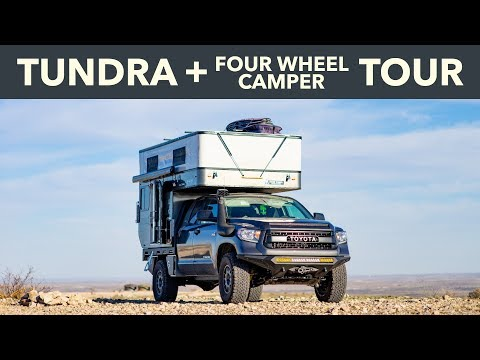 Tundra Four Wheel Camper Tour - YouTube