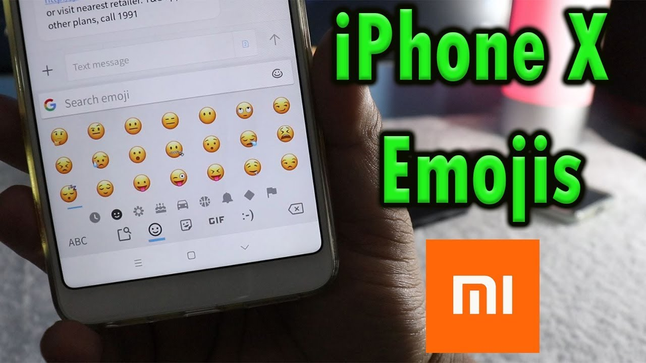 how to add emojis to iphone