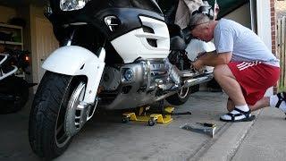 Honda Goldwing Battery Tender Ring Terminal Harness Install