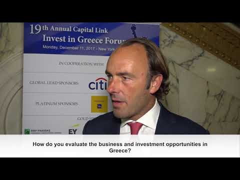 2017 Capital Link Invest in Greece Forum - Kyle Bass Interview