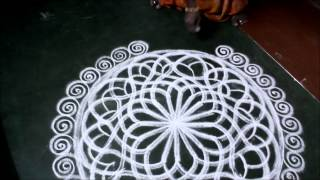 Friday kolam for Laksmi... by Chantal Jumel
