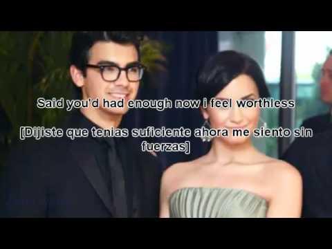 Joe Jonas - I'm Sorry [Lyrics - Traducida Al Español] Full Song 2011 [Fast Life]