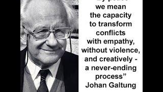 Johan Galtung's Positive Peace Concept by Hanno Heynitz