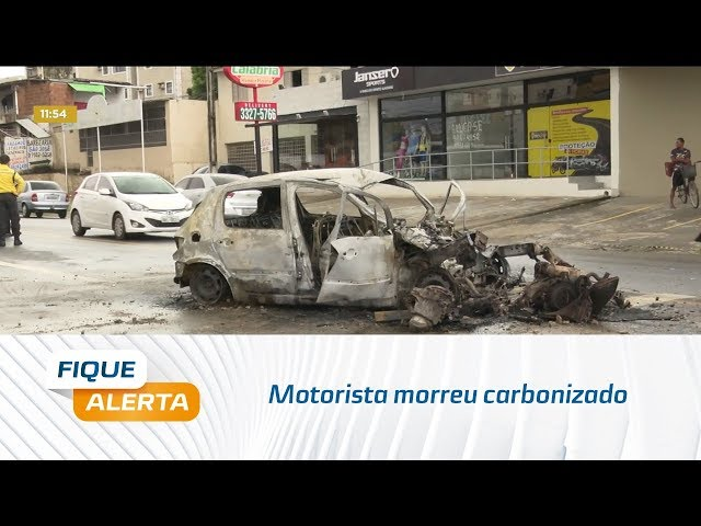 Motorista morreu carbonizado na Avenida Menino Marcelo
