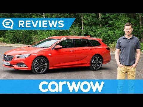 Vauxhall (Opel) Insignia Sports Tourer Estate 2018 review |  Mat Watson Reviews