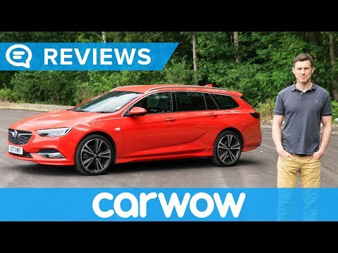 Vauxhall Opel Insignia Sports Tourer Estate 2018 review Mat Watson Reviews