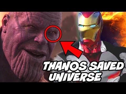 Thanos Saved Universe from Galactus Avengers Infinity War Avengers Endgame