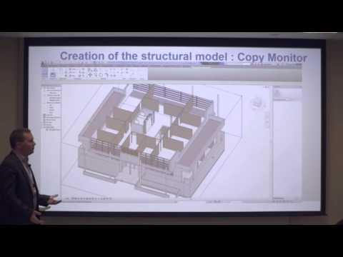 AUx Dubai 2015   Create concrete Formwork & reinforced detailing drafting with Revit  Stephane Balma