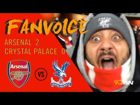 Giroud wonder goal as Arsenal beat Crystal Palace | Arsenal 2-0 Crystal Palace | 90min FanVoice