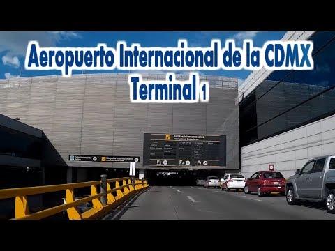 Aeropuerto CDMX Terminal 1 - Dashcam CDMX