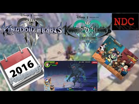 Kingdom Hearts III & Unchained X News: Rumored Releases, Toy Story World & More!   NDC