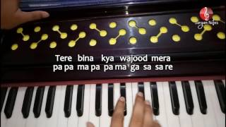 tum-hi-ho-from-aashiqui-2-on-harmonium-sargam-that-asavari-song-piano-song-notes