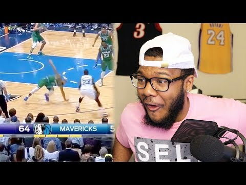 NBA BEST ANKLE BREAKERS and CROSSOVERS!  NASTIEST HANDLES I'VE EVER SEEN! REACTION