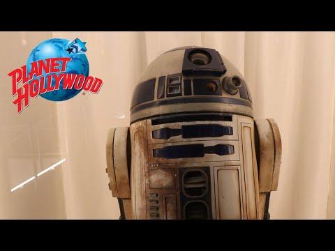 Planet Hollywood Orlando Movie Props