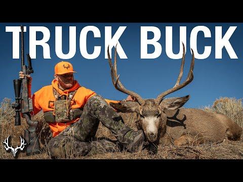 Truck Buck – A Late Season Rifle Mule Deer Hunt