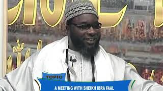 ECHO FROM TOUBA DU 10 JUILLET Topic: A MEETING WITH SHEIKH IBRA FAAL