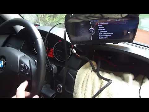 BMW E60 CIC видео интерфейс Мини HD плеер SD USB