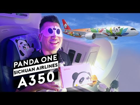 Sichuan Airlines A350 Panda One Flight