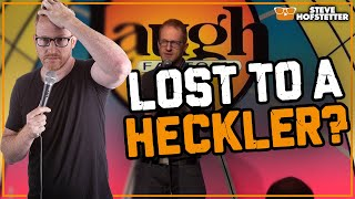 When Comedy Goes Horribly Wrong - Steve Hofstetter