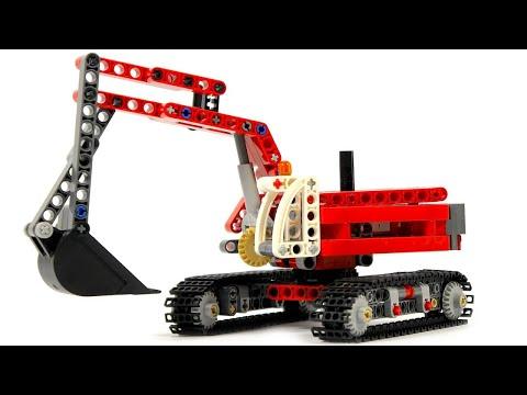 Lego Technic Construction Crew 42023 Excavator - Lego Speed Build