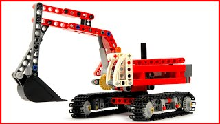 Lego Technic Construction Crew 42023 Excavator - Lego Speed Build