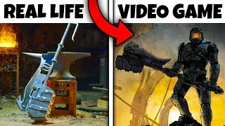 Top 10 Weapons From Video Games THAT ACTUALLY EXIST IN REAL LIFE!