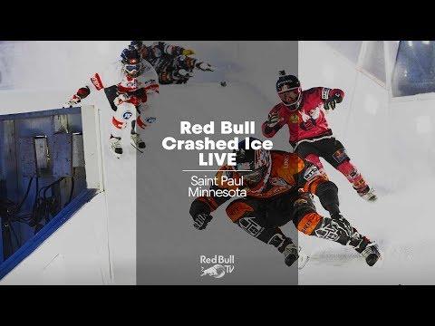 Download Youtube: REPLAY Red Bull Crashed Ice Saint Paul, Minnesota 2018