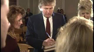 Donald Trump and Marla Maples visit her hometown of Dalton, GA 1991