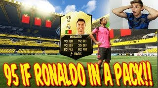 FIFA 17 LIVE - 95 IF RONALDO IN A PACK OPENING!! 😰😰 BESTE PACK AUF YOUTUBE - ULTIMATE TEAM (DEUTSCH)