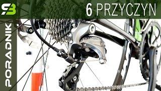 6 ważnych przyczyn słabego przerzucania biegów w rowerze. Złe działanie przerzutek - DIAGNOZA.