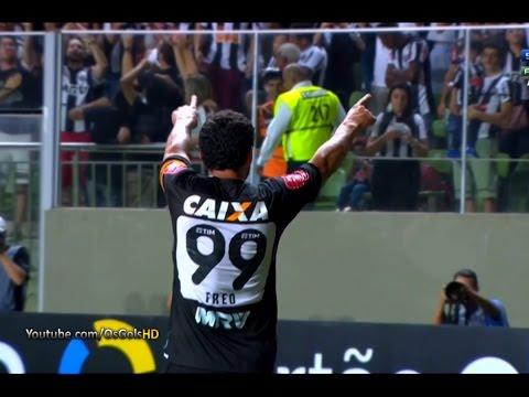 Gol de Fred, Atlético-MG 2 x 1 Vitória - Brasileirão 07/09/2016 [HD]
