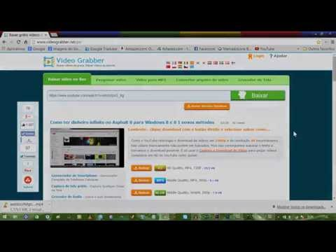 Como baixar videos online pelo Video Grabber