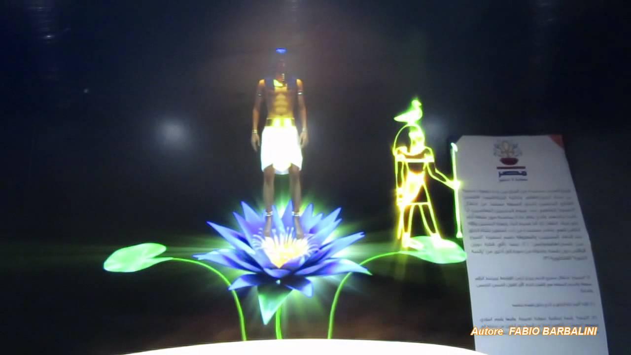 Expo Stand Egitto : Expo milano egitto ologramma youtube