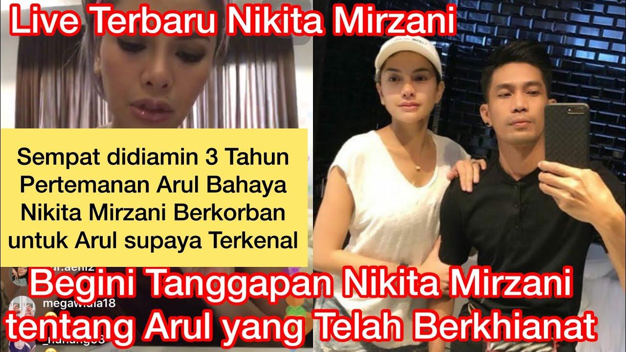 Nikita Mirzani Ceritakan Pengorbanannya untuk Arul Hingga terkenal Yang akhirnya Berkhianat