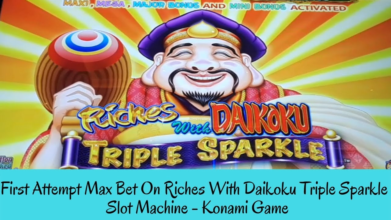 Download FIRST ATTEMPT MAX BET ON RICHES WITH DAIKOKU TRIPLE SPARKLE SLOT MACHINE - SunFlower Slots