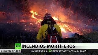 Al menos 42 muertos por los incendios en California