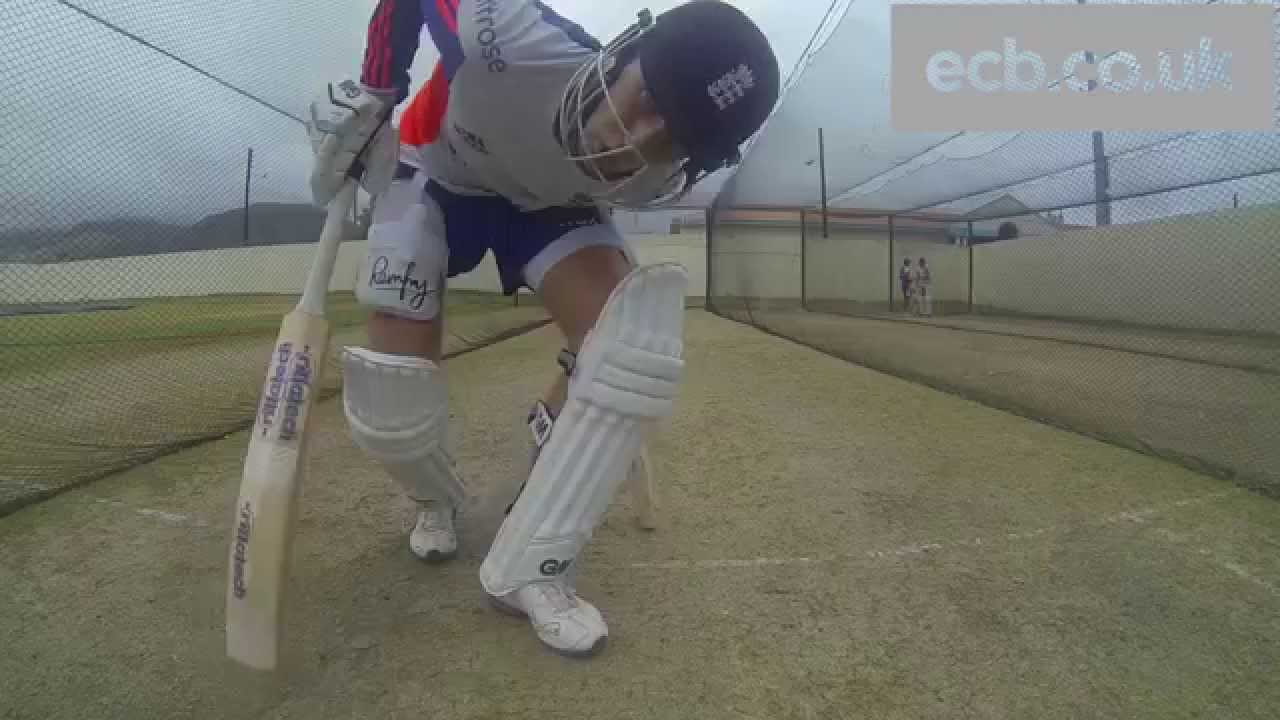 In the nets with England batsman Joe Root - GoPro footage - YouTube