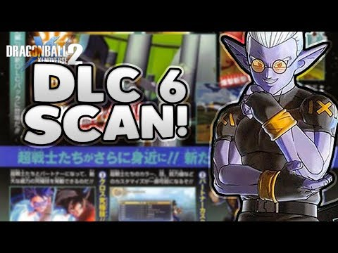 NEW CHARACTER! DLC Pack 6 Official Scan • Dragon Ball Xenoverse 2 Extra Pack 2 Scan