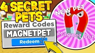 ALL MONEY AND PET CODES IN MAGNET SIMULATOR UPDATE 17! Roblox