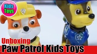Paw Patrol La Pat Patrouille Kids Toys Cartoon TV Figures | Unboxing