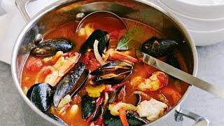 Бузара красная — черногорская кухня.  Как приготовить морепродукты