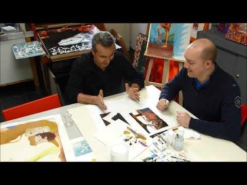 cours peinture acrylique 8 tutoriel pour faire un glacis sur peinture acrylique youtube. Black Bedroom Furniture Sets. Home Design Ideas