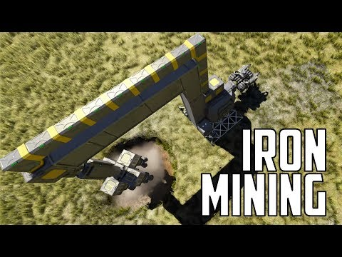 Space Engineers - S1E18 'Setting Up The Iron Mine'