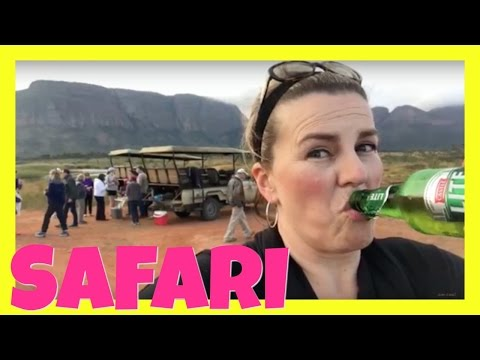 🐆  AFRICAN SAFARI! WILDLIFE GAME RESERVE IN SOUTH AFRICA! TRAVEL VLOG!